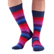 NORDKAMP Basic Sávos zokni - skék 6 szín - 41-46 BM1301