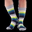 NORDKAMP Basic Sávos zokni - szürke 6 szín - 41-46 BM1303