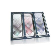 M17-2 Ffi textilzsebkendő 3db díszdobozban LUX