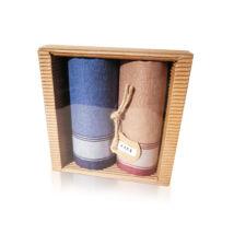 M51-11 Ffi textilzsebkendő 2db hullámkarton csomagolásban (ÖKO)