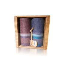 M51-13 Ffi textilzsebkendő 2db hullámkarton csomagolásban (ÖKO)