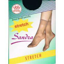 - SANDRA üvegszálas stretch bokafix, 15 DEN,  1 pár