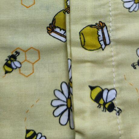 Hálós bevásárlózsák 25x35 méhecskés