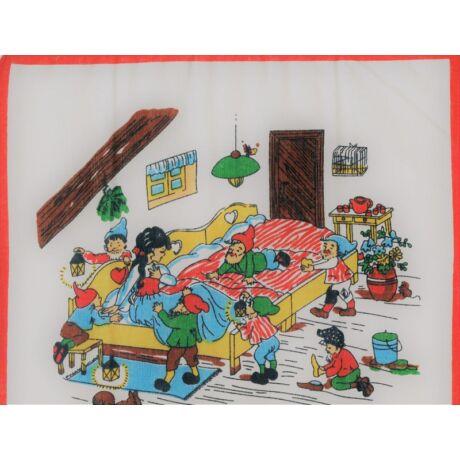 C06-HÓFEHÉRKE Gyerek textilzsebkendő 6 db, tasakban