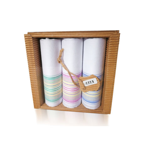 L47-3 női textilzsebkendő