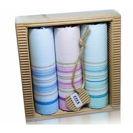 L47-7 női textilzsebkendő (3db-os)