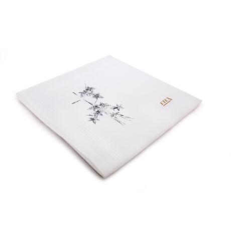 L07 Női gyász textilzsebkendő 1 db tasakban