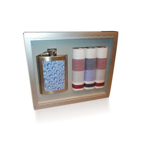 M26-4 Ffi textilzsebkendő 3db ajándék flaskával