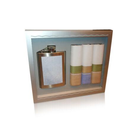 M26-5 Ffi textilzsebkendő 3db ajándék flaskával