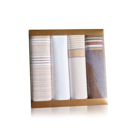 M30-3 Ffi textilzsebkendő 4db, műanyag dobozban