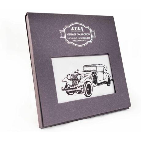 M35 Ffi textilzsebkendő 1db vintage oldtimer autó