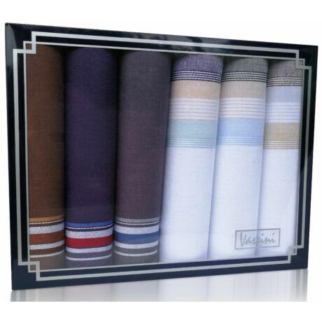 M37-1 Ffi textilzsebkendő 6db díszdobozban