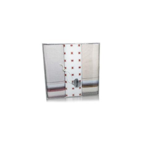 M39-11 Ffi textilzsebkendő 3db, dobozban