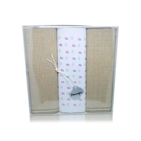 M39-5 Ffi textilzsebkendő 3db, dobozban