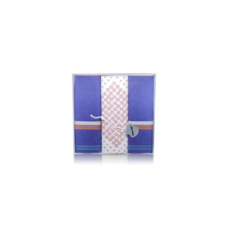 M39-9 Ffi textilzsebkendő 3db, dobozban