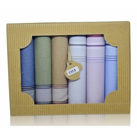M50-20 férfi textilzsebkendő csomag (6db-os) - fiatalos