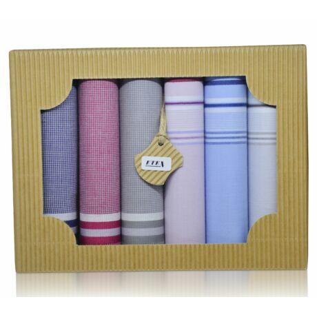 M50-22 férfi textilzsebkendő csomag (6db-os)