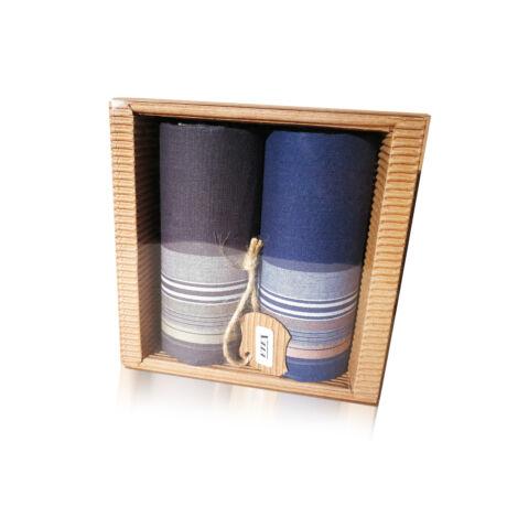 M51-15 Ffi textilzsebkendő 2db hullámkarton csomagolásban (ÖKO)