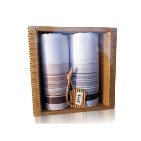M51-24 Ffi textilzsebkendő 2db hullámkarton csomagolásban (ÖKO)