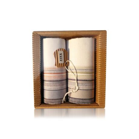 M51-25 Ffi textilzsebkendő 2db hullámkarton csomagolásban (ÖKO)