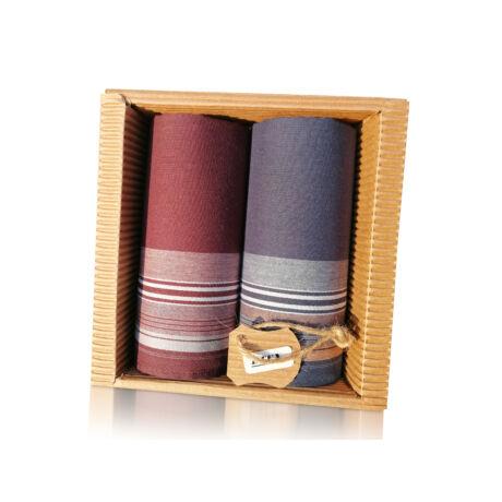 M51-28 Ffi textilzsebkendő 2db hullámkarton csomagolásban (ÖKO)