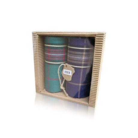 M51-3 Ffi textilzsebkendő 2db hullámkarton csomagolásban (ÖKO)