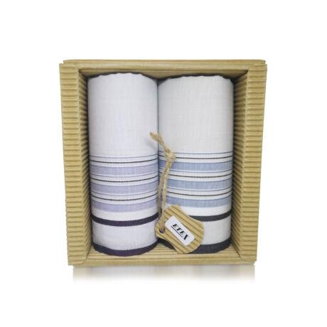 M51-30 Ffi textilzsebkendő 2db hullámkarton csomagolásban (ÖKO)