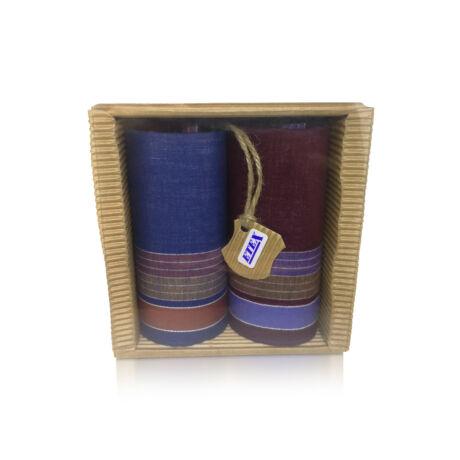 M51-32 Ffi textilzsebkendő 2db hullámkarton csomagolásban (ÖKO)