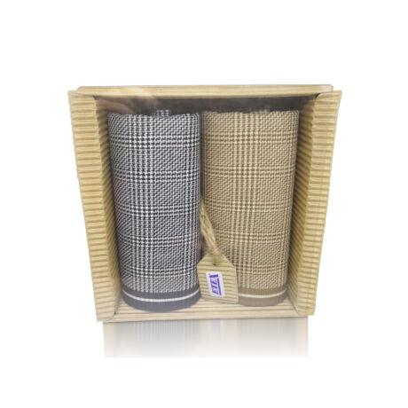 M51-35 Ffi textilzsebkendő 2db hullámkarton csomagolásban (ÖKO)