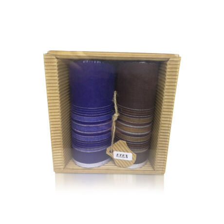 M51-36 Ffi textilzsebkendő 2db hullámkarton csomagolásban (ÖKO)