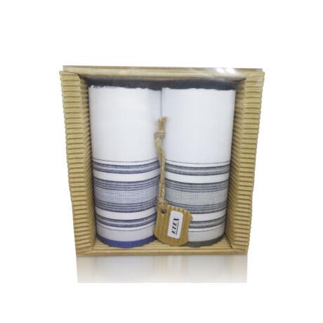 M51-39 Ffi textilzsebkendő 2db hullámkarton csomagolásban (ÖKO)