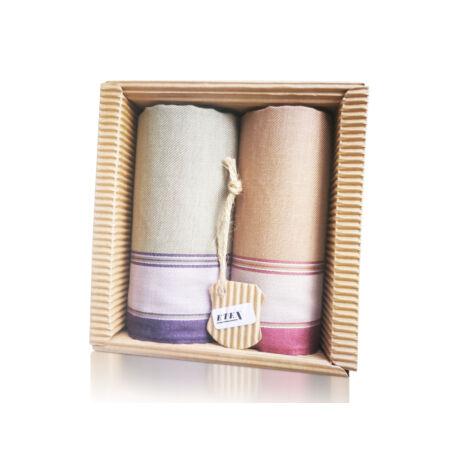 M51-41 Ffi textilzsebkendő 2db hullámkarton csomagolásban (ÖKO)
