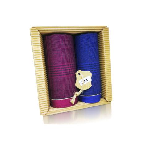 M51-47 Ffi textilzsebkendő 2db hullámkarton csomagolásban (ÖKO)
