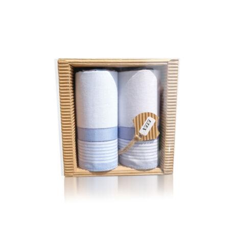 M51-7 Ffi textilzsebkendő 2db hullámkarton csomagolásban (ÖKO)