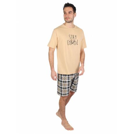 BIKE férfi pizsama szett-rövid