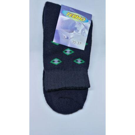Kiárusítás - Termo zokni méret : 35-37 - (minta3)