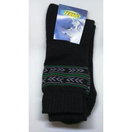 Kiárusítás - Termo zokni méret : 44-46 - (minta6)