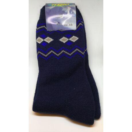 Kiárusítás - Termo zokni méret : 44-46 - (minta10)