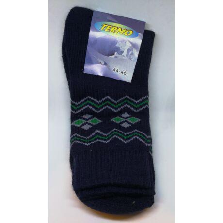 Kiárusítás - Termo zokni méret : 44-46 - (minta9/26)