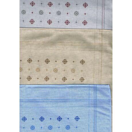 - Férfi zsebkendő 3db (színes, virág mintás) OLIVER 7