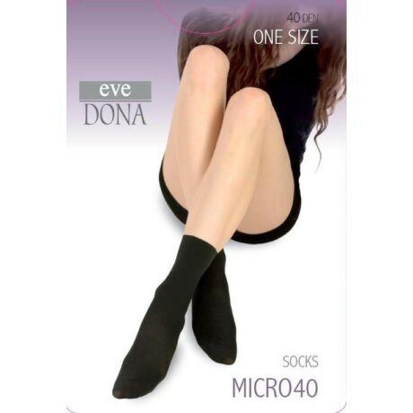 - MICRO 40 microfibre 40 DEN bokafix, 1 pár